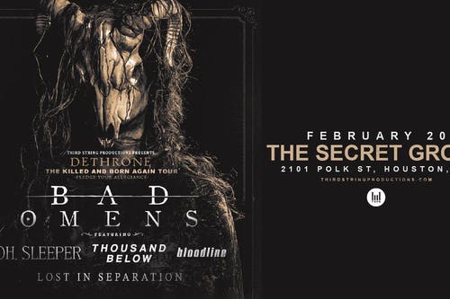 Bad Omens at The Secret Group