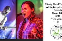 Thirsty Third Thursdays w/ Hadassah, Andy, + Friends