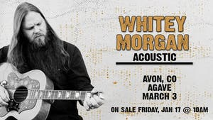 An evening with Whitey Morgan
