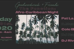 The Function: Afro-Caribbean Night