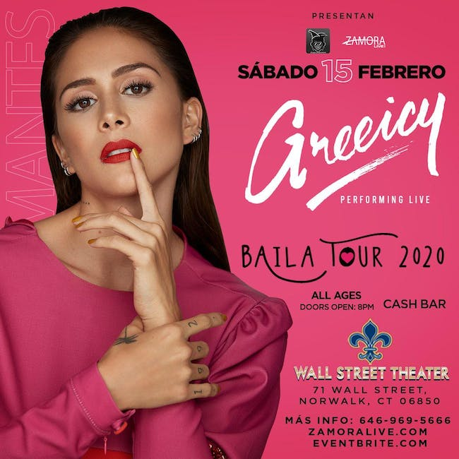 Greeicy Rendón Baila Tour 2020