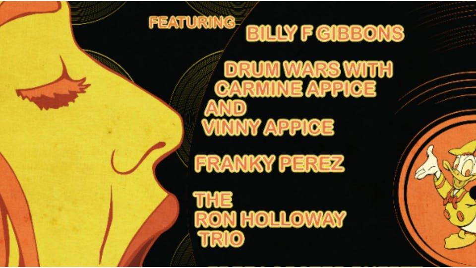 Billy F.Gibbons,Carmine & Vinny Appice,Franky Perez,Ron Holloway and more!