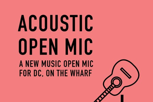 Free Acoustic Open Mic Hosted by Rachel Levitin