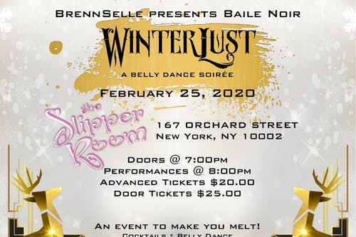 WinterLust: A Belly Dance Soirée