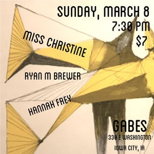 Ryan M Brewer, Miss Christine and Hannah Frey