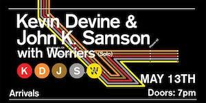 Kevin Devine / John K. Samson----CANCELED