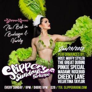 Slippery Sunday's Burlesque