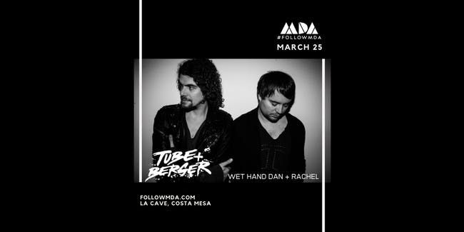MDA Wednesdays w/ Tube & Berger