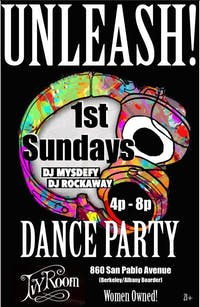 Unleash! Dance Party! w/ DJ Rockaway and DJ Mysdefy **SUPER BOWL EDITION**
