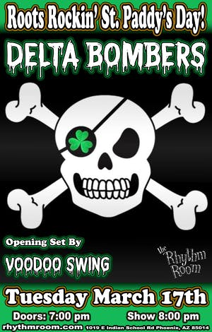 Roots Rockin' St. Paddy's Day w/ DELTA BOMBERS