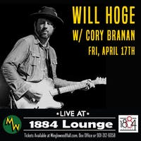 Will Hoge w/ Cory Branan
