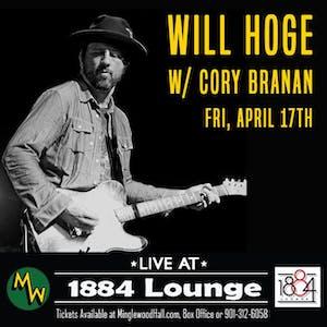 POSTPONED: Will Hoge w/ Cory Branan