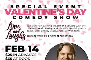 Valentine's Comedy Show with Kevin Farley