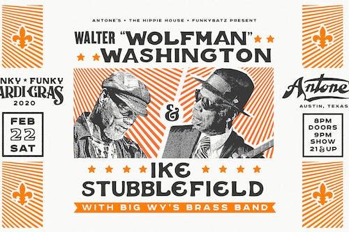 "Walter ""Wolfman"" Washington & Ike Stubblefield plus Big Wy's Brass Band"