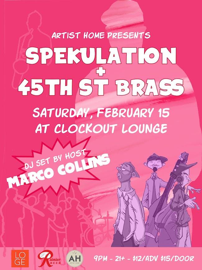 Spekulation + 45th St. Brass
