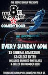 THE 8TH WONDER COMEDY HOUR!