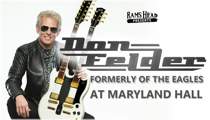 Don Felder (formerly of The Eagles) at Maryland Hall