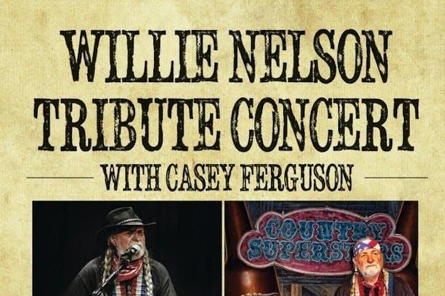 Casey Ferguson is Willie Nelson