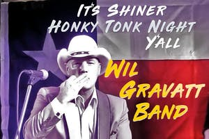 Shiner Honky Tonk Night with Wil Gravatt