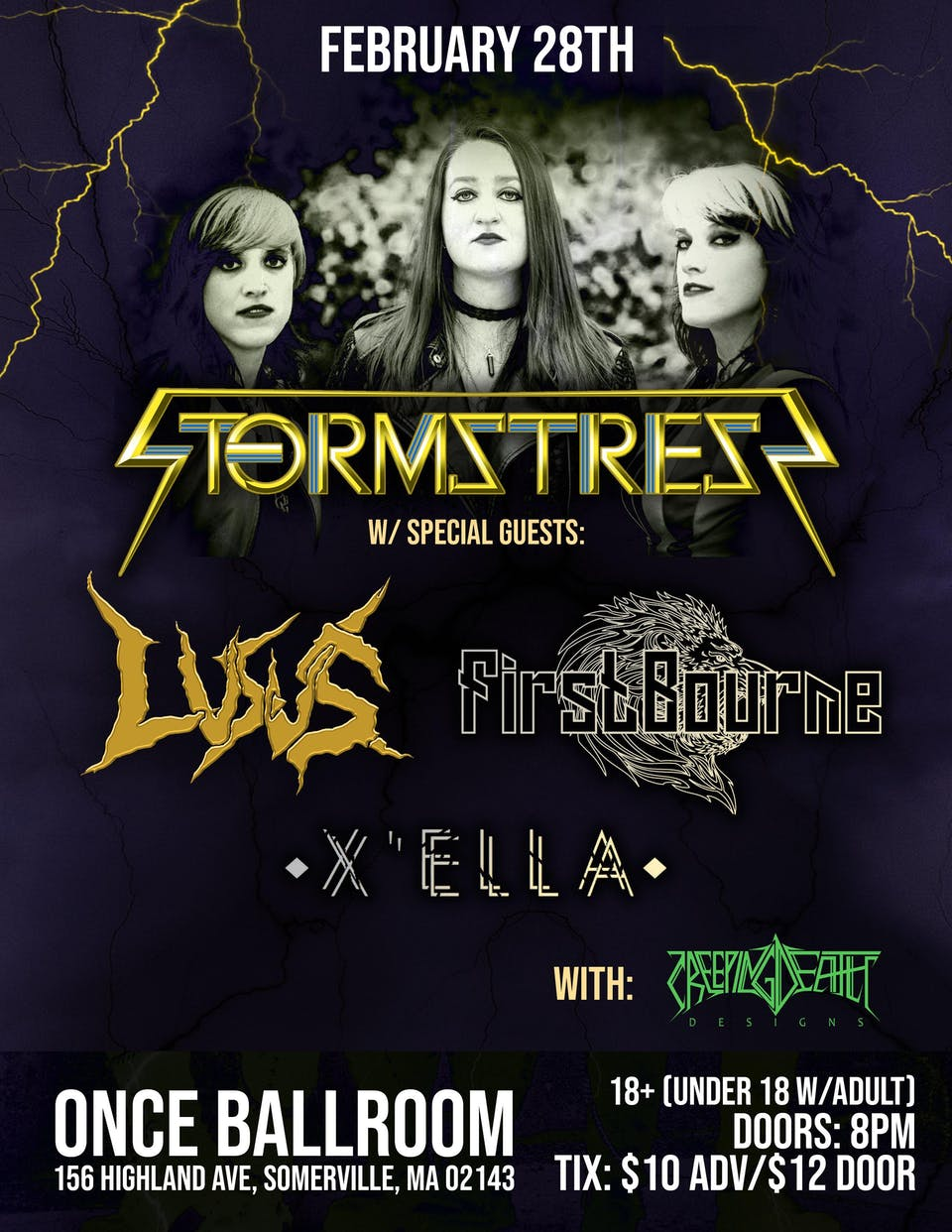 STORMSTRESS DEBUT SHOW