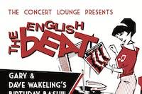 The English Beat - Dave Wakeling & Gary Romano's Birthday Bash!