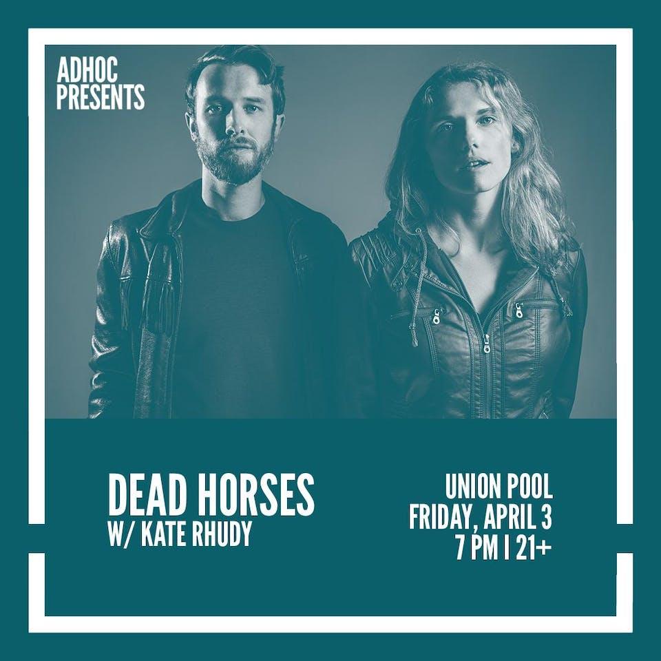 Dead Horses, Kate Rhudy