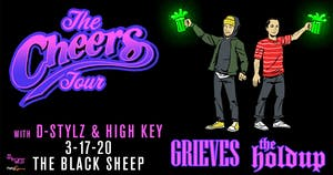 Grieves + The Holdup w/  D-Stylz & High Key AT THE BLACK SHEEP