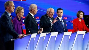 February Democratic Debate Watch Party at Manny's! Let's go 2020!