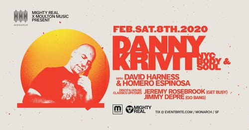 Danny Krivit - NYC @ Monarch / SF