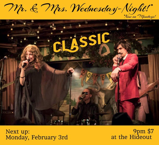 Mr. and Mrs. Wednesday Night: Clamshell Classic!
