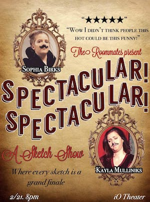 The Roommates Present: Spectacular! Spectacular!