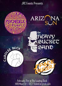 Arizona Sun, Psychedelic Purple, Space Cruizers, Carolee Beck, Heavy Bucket