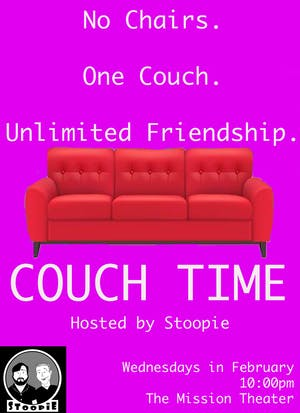Couch Time Hosted by Stoopie