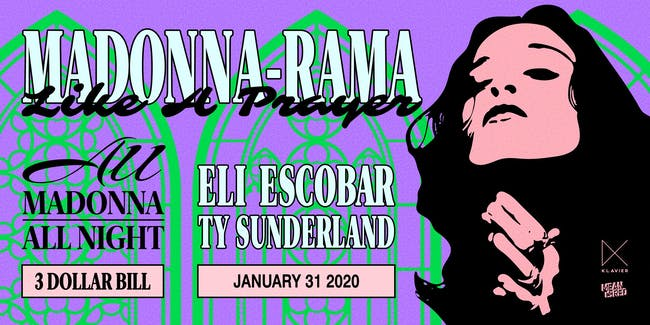 Madonna-Rama: All Madonna, All Night with Eli Escobar