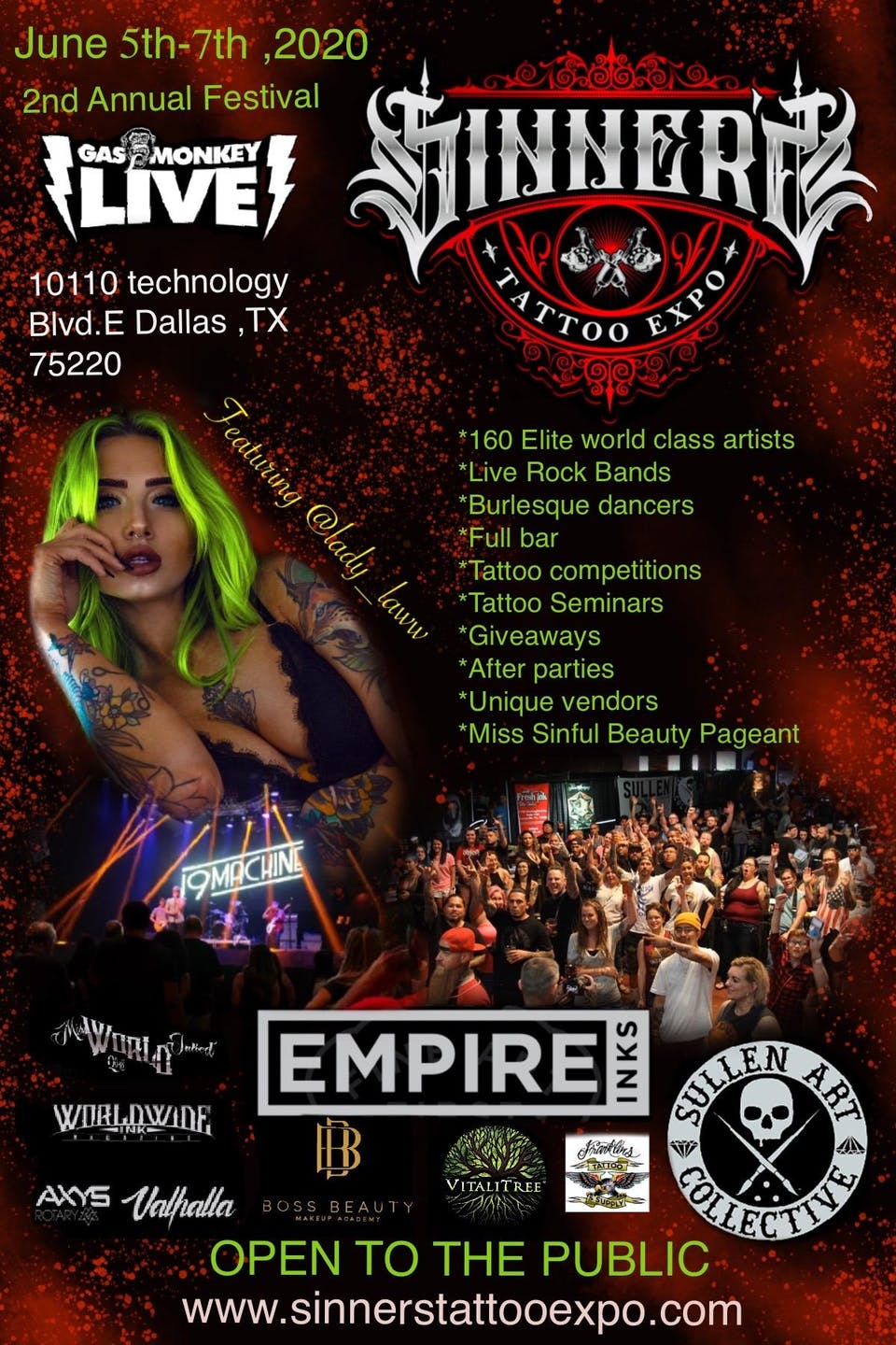 SINNERS TATTOO EXPO