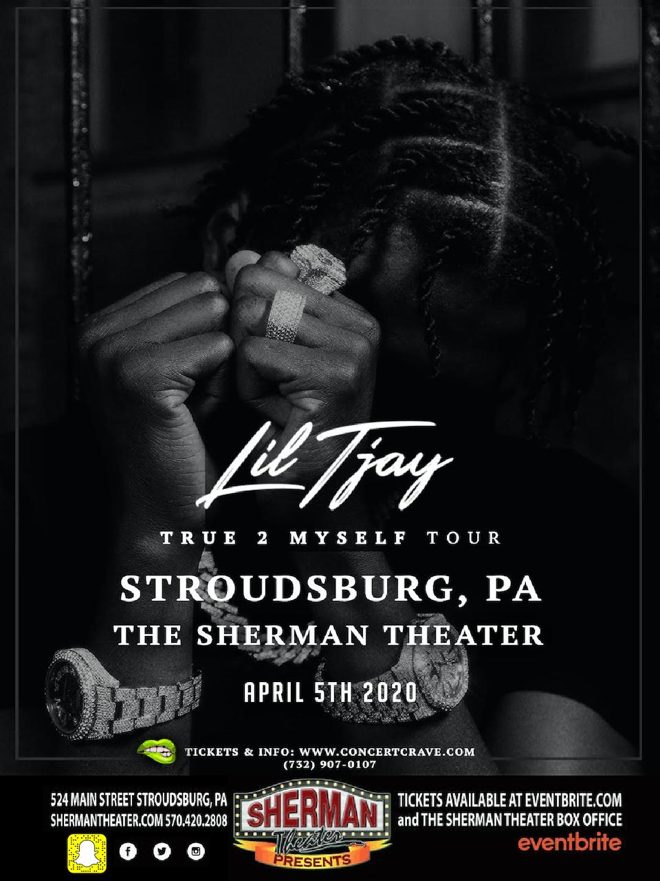POSTPONED: Lil Tjay True To Myself Tour