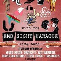 Emo Night Karaoke with a live band April 18 @ O'Brien's