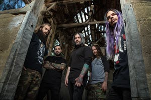 Suicide Silence - Become The Hunter Tour