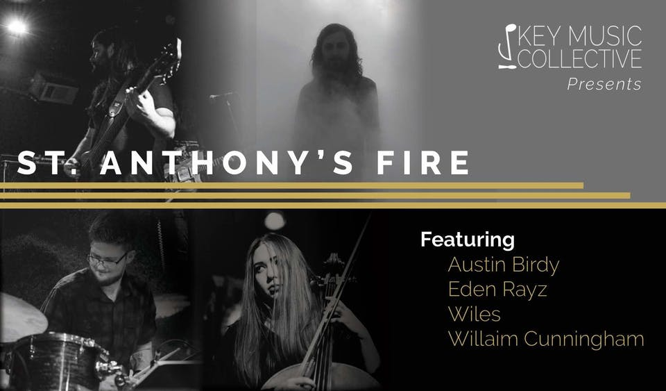 CANCELLED: Key Music Collective Presents: St. Anthony's Fire