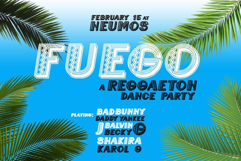Fuego! - A Reggaeton Dance Party