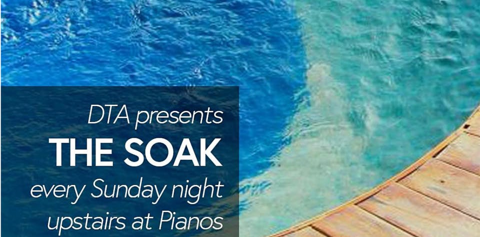 THE SOAK w/ DJs Kelly Frost and Ucchy