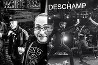 Thrpii / The Drag / The Dead Channels / Deschamp