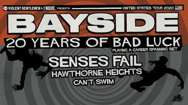Bayside – 20 Year Anniversary Tour