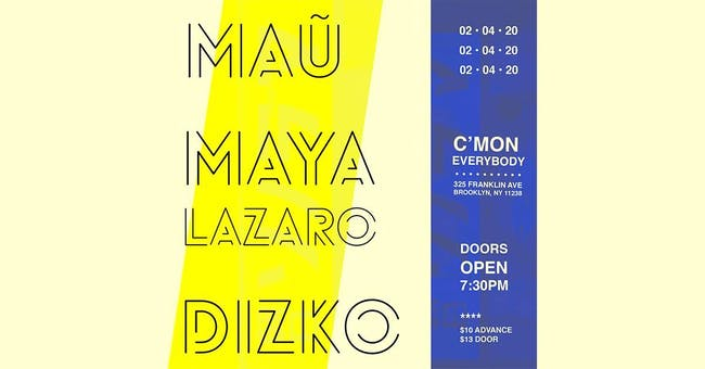 maũ, Maya Lazaro, DizKo
