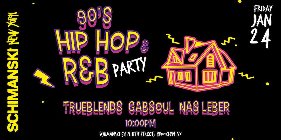 Throwback 90's Hip Hop & R&B Dance Party
