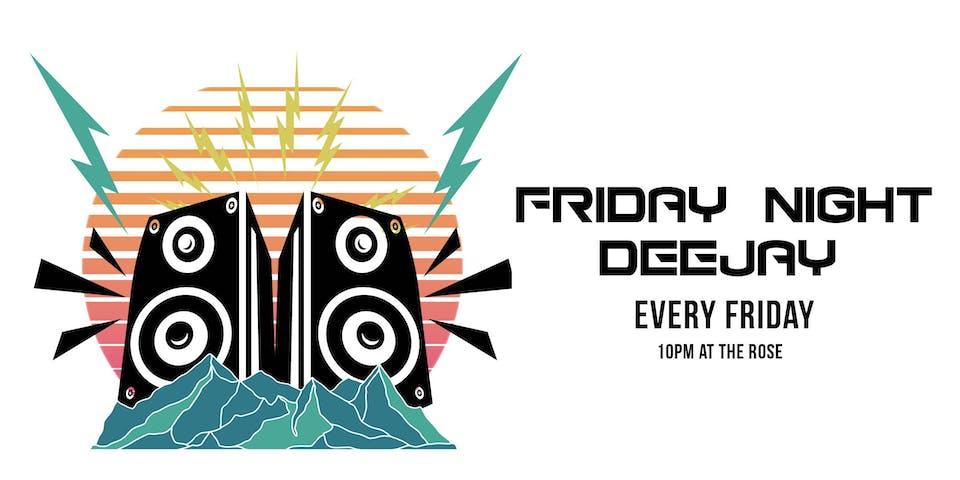 Friday Night Deejay with DJ Jason Wiggz