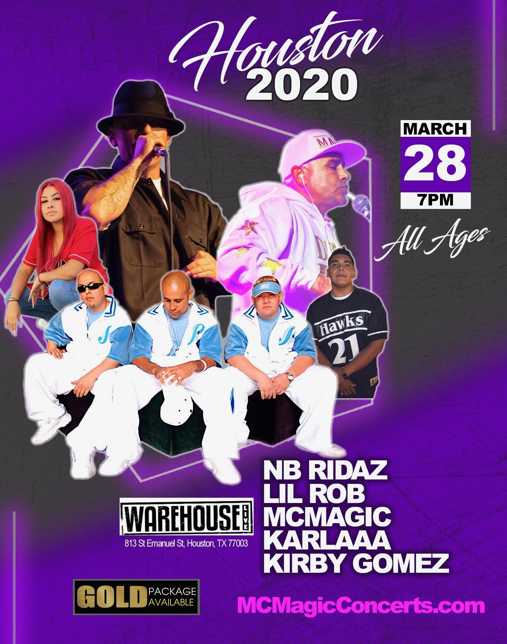 NB Ridaz, Lil Rob & MC Magic Concert