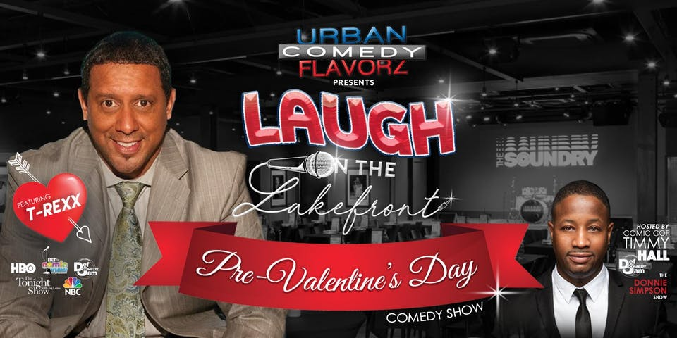 Laugh on the Lakefront featuring T-REXX