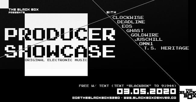 Producer Showcase (Free w/ Text)