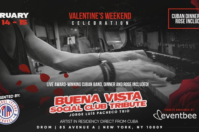 St. Valentine's Latin Jazz with Pacheco (Thursday Shows)